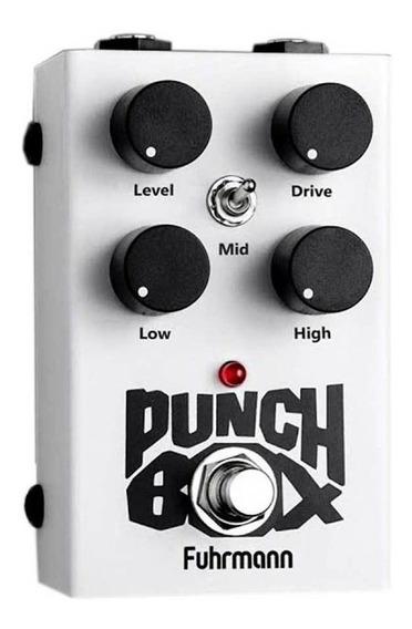 Pedal Punch Box Fuhrmann Distorção Super Lançamento 2019