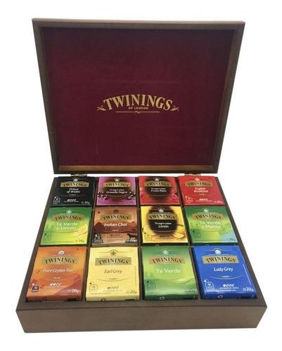 Té Twinings - Caja De Madera Con 120 Sobres.
