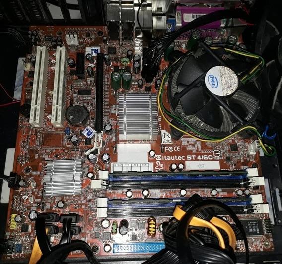 Pentium Dual Core 3.2 + 4x2gb Ddr2 + Placa Mãe + Hd 320gb