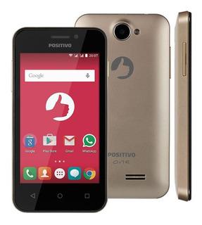 Smartphone Positivo One S420 Dourado Remanufaturado Dualchip