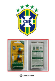 Fone De Ouvido Seleção Brasileira Brasil Waldman - Novo!!!