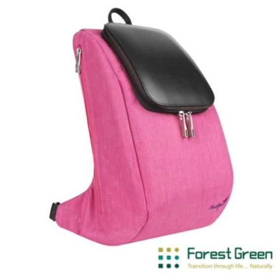 Mochila Forestgreen Rosa/marrom Para Tablet 10.1