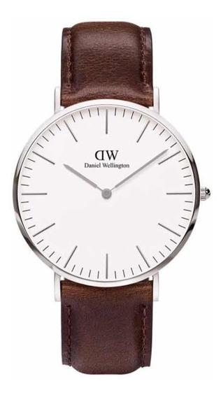 Daniel Wellington | Classic 40mm ( Bristol ) Silver