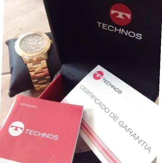 Relógio Feminino Analógico Technos 2036lnt 4c