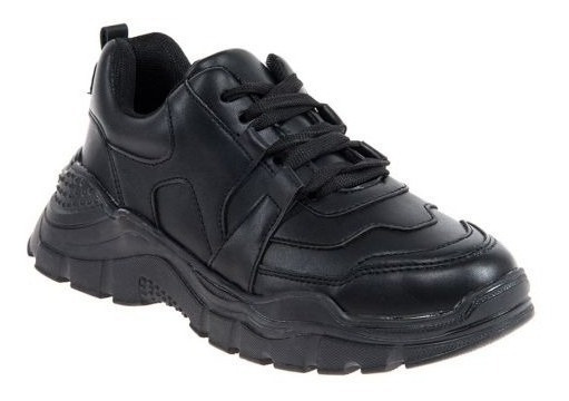 Tenis Casual Urban Shoes 7570 Negro 825941 Msi