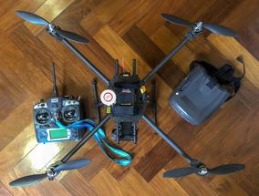 Drone Tarot Carbono, Controladora Dji, Fpv Googles Quanum