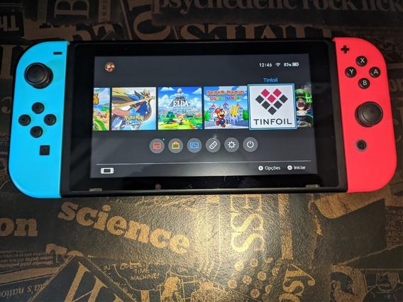 Nintendo Switch Dsb 128gb Atmosphere !!