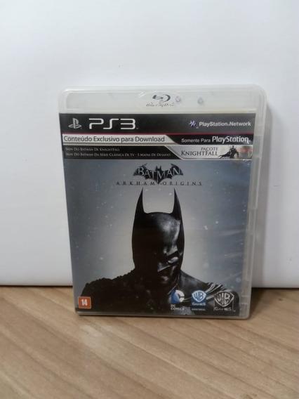 Batman Arkham Origins Ps3 Usado