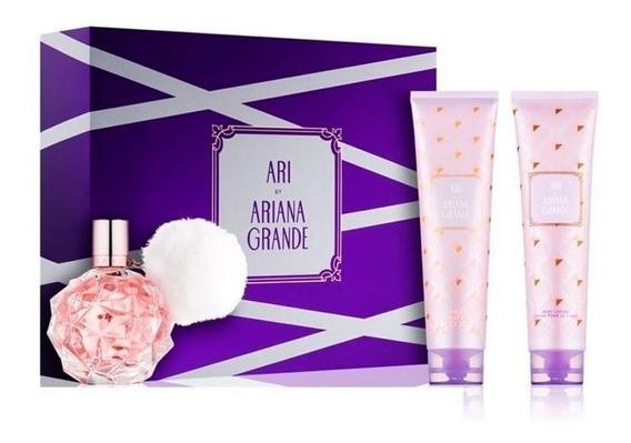 Kit Ariana Grande Ari 100ml (3peças) Original Com Selo