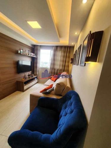 Apartamento Com 2 Dorms, Vila Rio De Janeiro, Guarulhos - R$ 225 Mil, Cod: 6331 - V6331