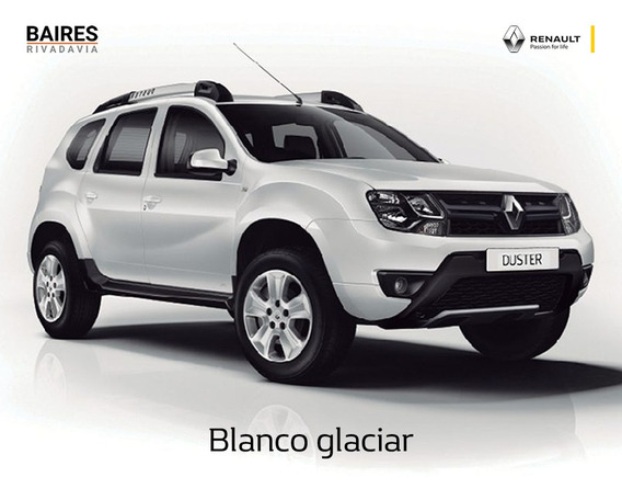 Renault Duster 1.6 Ph2 4x2 Expression Blanco Okm 2020 Contad