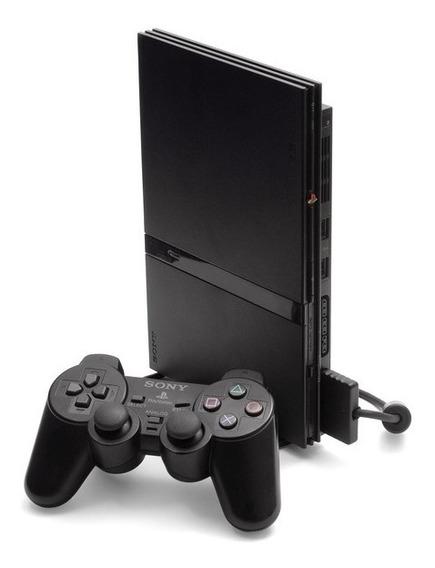 Play 2 Ps2 Playstation 2 Usado+10jogos+1controle+1memorycard