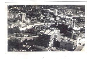 Foto Postal Antiga Criciúma Vista