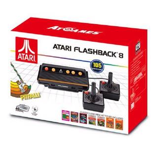 Atari Consola De Juegos Clásico Flashback 8 Con 105 Juegos