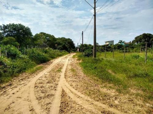 Terreno No Bairro Santa Cruz, Em Itanhaém, Ref. C0564 L C