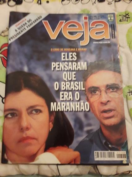 Revista Veja, Eles Pensaram Que O Brasil Era O Maranhão.