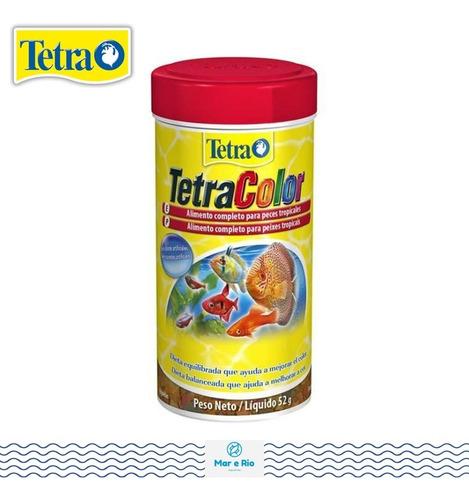 Imagem 1 de 1 de Ração Tetracolor Flakes - 52gr Tetra Color Flocos - Mais Cor