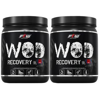 Kit 02 Bcaa Wod Recovery Alfajor Ftw Sport Nutrition 600g