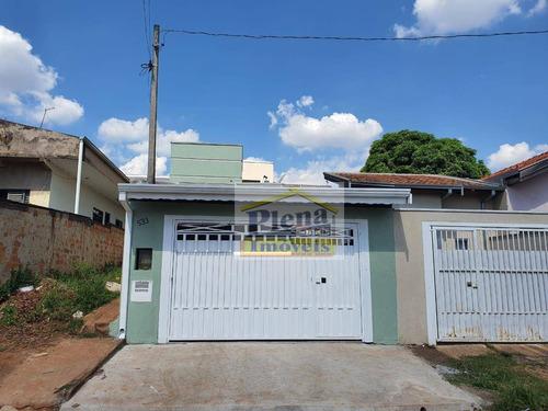 Imagem 1 de 22 de Casa Com 2 Dormitórios À Venda, 90 M² - Jardim Dulce (nova Veneza) - Sumaré/sp - Ca3490