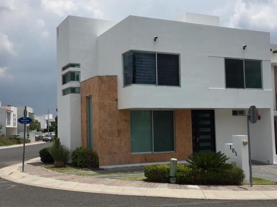 Casa En Renta En Residencial El Refugio Querétaro Rcr200729-mc