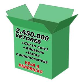 2.450.000 Vetores + Curso Corel Draw + Datas Comemorativas.