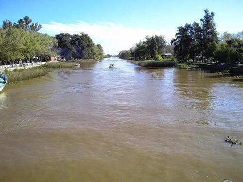Imagen 1 de 7 de Terreno Con Amarra Propia En Salida Al Rio Luján En Barrio Semi Cerrado Las Lagunas En Villa La Ñata
