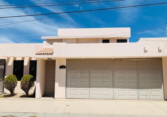 Casa En Renta Amueblada Av. Santiago, Fracc. (plazo Mínimo Un Año).