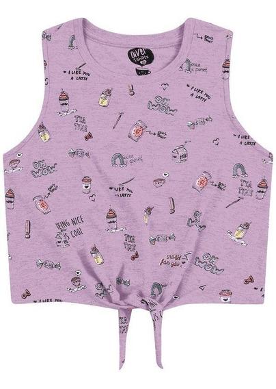 Promoção Roupa Infantil - Blusa Feminina Tamanho 12