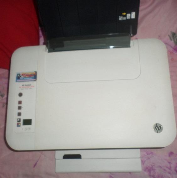 Impressora Hp Deskjet 2546 Wi-fi + Cartucho Original (usada)