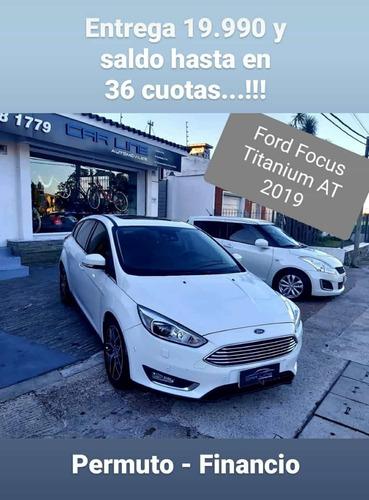Ford Focus Titanium At Permuto Financio (vento Gli 208 C3