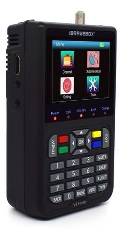 Buscador Satelital Medidor Ibravebox V9 Finder Digital