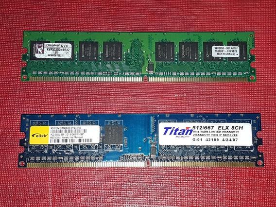 Memoria Ram Ddr2 512mb 1x512mb