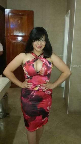 Vestido De Fiesta De Raso Talle M