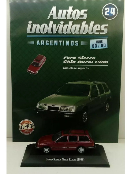 Autos Inolvidables Años 80/90 N° 24 Ford Sierra Ghia Rural