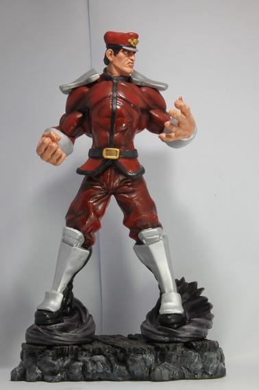 Escultura Bison Street Fighter 45 Cm