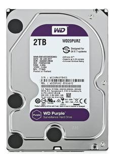 Disco Rigido Wd Purple 2tb 7200rpm