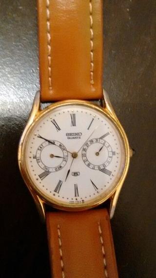 Relógio Seiko Quartz Social Dec. 80