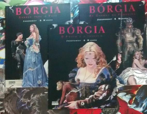 Bórgia Vol 1, 2 E 3 Capa Cartonada Ed. Conrad