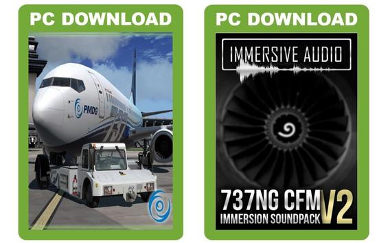 P3dv4 - Pacote Pmdg 737 Ngxu Atualizado + Immersive Audio