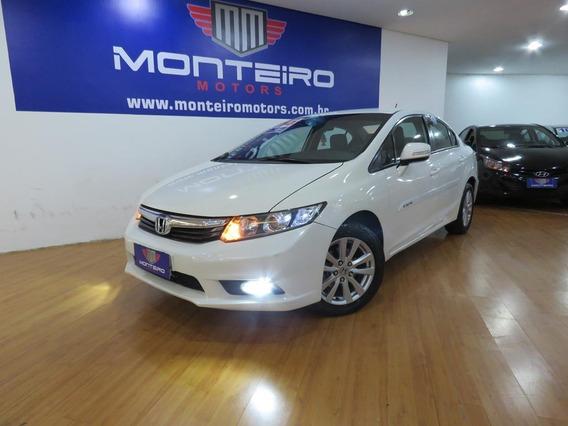 Honda Civic 2.0 Lxr Flexone Aut Completo C/ Mult 79.500 Kms