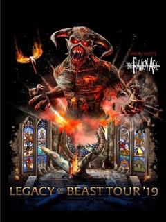 Entradas Iron Maiden Cancha 14-10 Movistar Arena