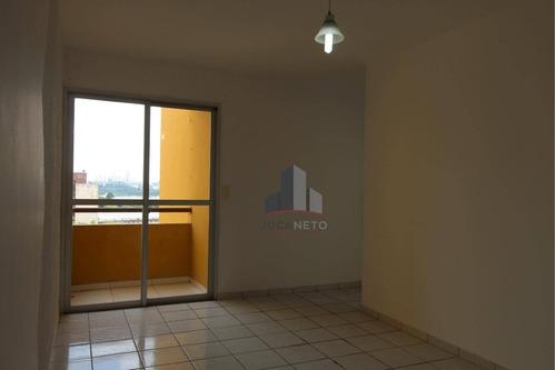 Apartamento Com 2 Dormitórios Para Alugar, 57 M² Por R$ 825,00/mês - Parque São Vicente - Mauá/sp - Ap1091