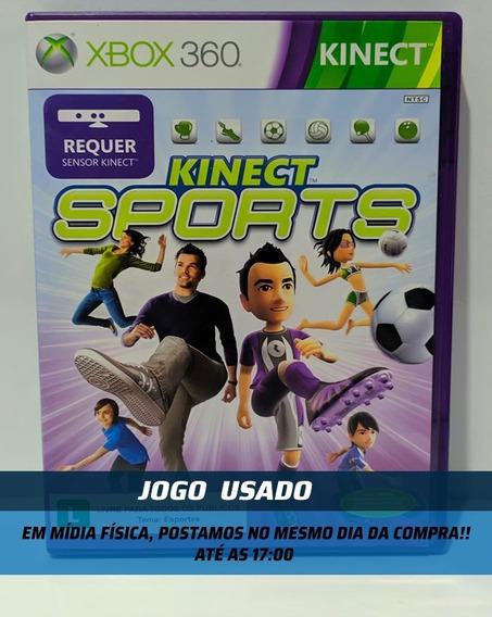 Jogo Kinect Sports 1 Xbox 360 Mídia Física Usado