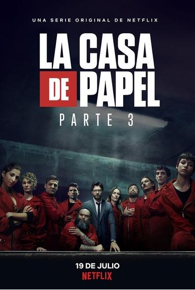 Dvd La Casa De Papel 3ª Temporada Completa