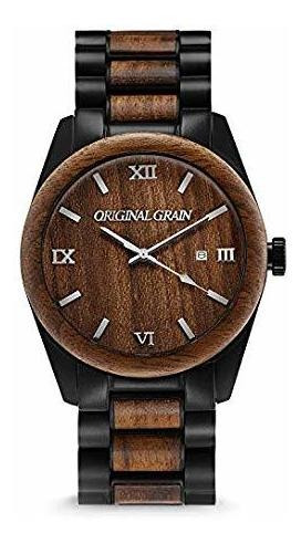 Original Grain Wood Watch | Classic Collection Reloj Analóg