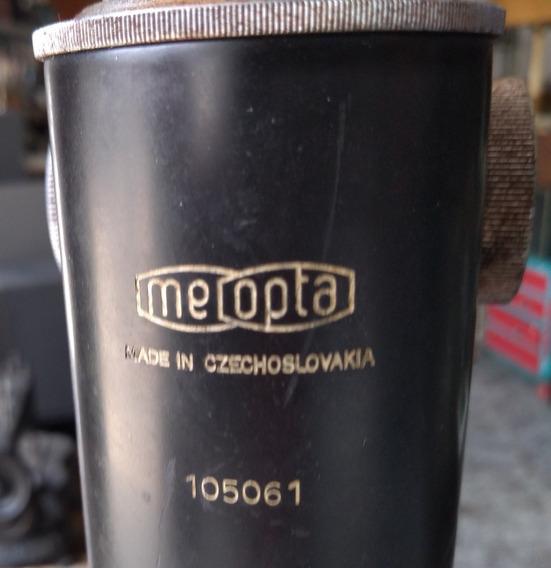 Vintage Microscópio Meopta