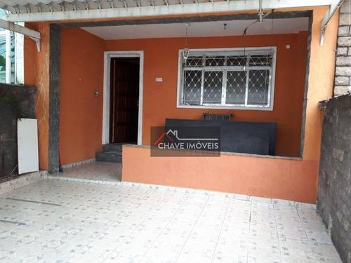 Imagem 1 de 28 de Sobrado Com 3 Dormitórios À Venda, 196 M² Por R$ 650.000,00 - Vila Mathias - Santos/sp - So0115