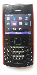 Celular Antigo Nokia X201 Funcionando Para Coleçao