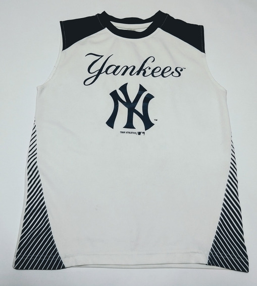 Remera Musculosa New York Yankees Mlb Baseball Talle L