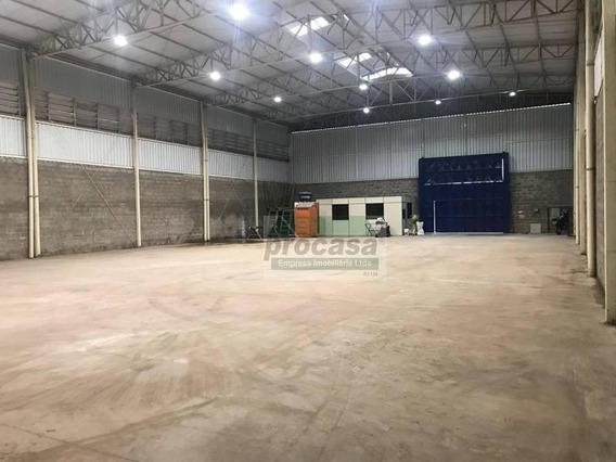 Galpão À Venda, 800 M² Por R$ 1.000.000 - Flores - Manaus/am - Ga0216
